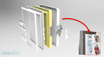 Pocket Door Assy for Freezing Corner 사진